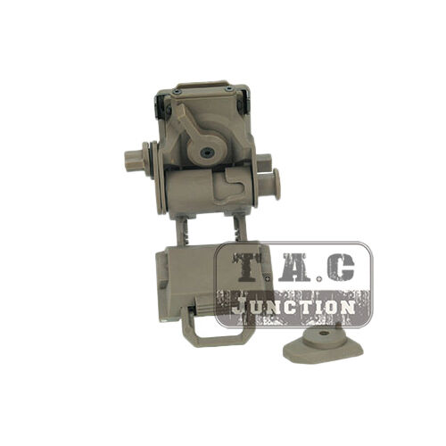 Tactical L4 G24 Style Helmet Night Vision Goggles NVG Mount for PVS-15//18 Mock