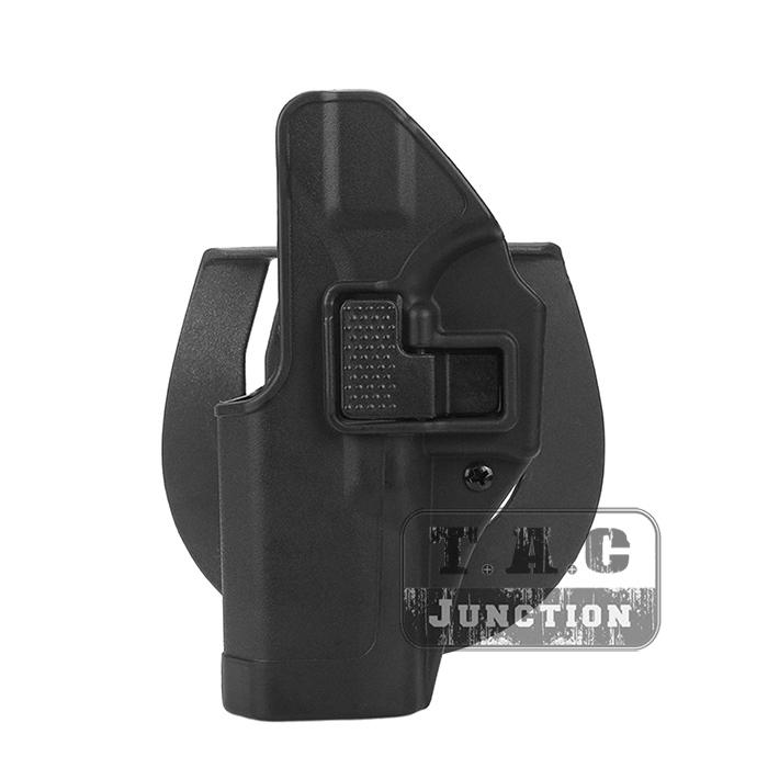 CQC Serpa Left Hand Waist Pistol Holster w// MOLLE for Glock 17 19 22 23 31 32