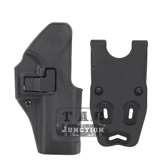 Serpa CQC Right Hand Pistol Holster w/ Jacket Slot for ...