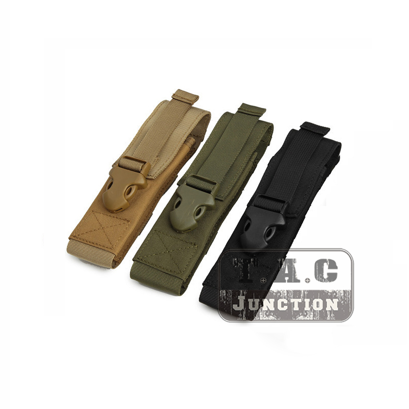 Airsoft Triple magazine pouch for MP5 MP7 type magazines  olive coyote black
