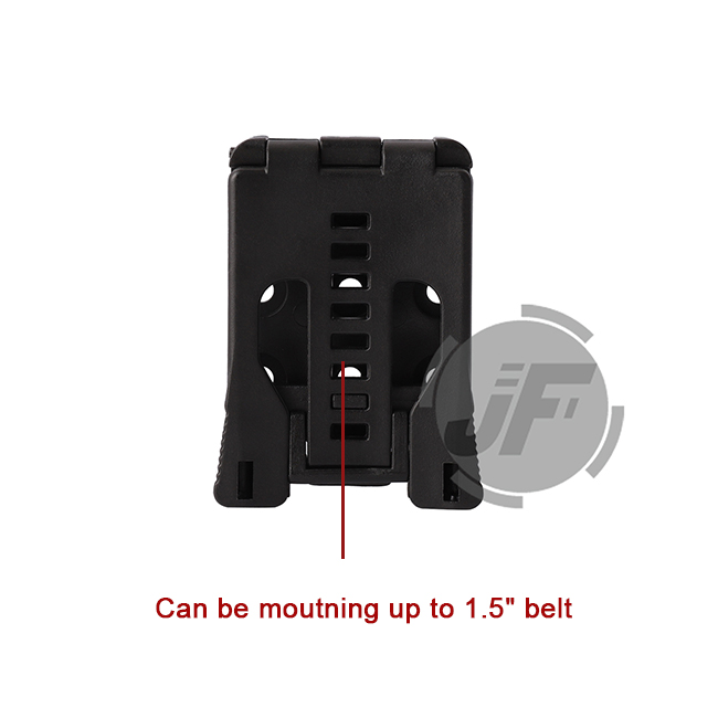 IPSC IDPA Triple Magazine Holster Quick Release Mag Case Carrier with MOLLE Clip